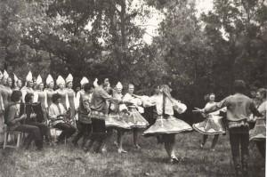 Концерт в колхозе Новый путь Рамонского р на лето 1979